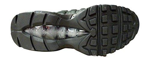 Nike Vrouwen Air Max 95 Winter Running Trainers 880.303 Schoenen Van De Zwarte Zwarte Wolf Grijs 001