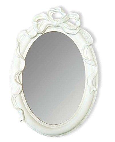 Amaranda Casa Specchio ovale con fiocco cm. 28x3x42h