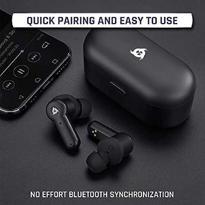 Cascos Bluetooth NUEVOS 2020 Bater/ía de Larga duraci/ón 30H /Óptimo Aislamiento Emparejamiento f/ácil y r/ápido Auriculares inal/ámbricos Bluetooth Excelente Sonido KLIM/™ Pods