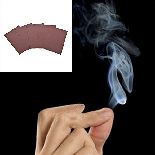 5Pcs Hot Sale Magic Smoke from Finger Tips Magic Trick Surprise Prank Joke Mystical Fun Toys Wholesale