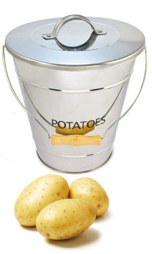 Eddingtons Kartoffeleimer, Edelstahl