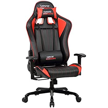 turismo racing sovrano series gaming chair big and tall black and red seat has. Black Bedroom Furniture Sets. Home Design Ideas