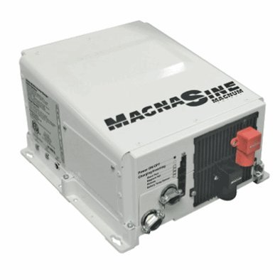 Magnum Energy MS2712E MS-E Series 2700W 12VDC Pure Sine Inverter/125Amp PFC Charger, Standard transfer relay, Low/high battery protection, Versatile mounting, Fan cooled, Current overload protection, Convenient switches