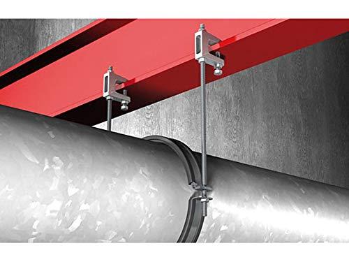 Fischer 79687 Tr/ägerklammer TKL M8 Spannbereich 0-23 mm VPE 1 St/ück