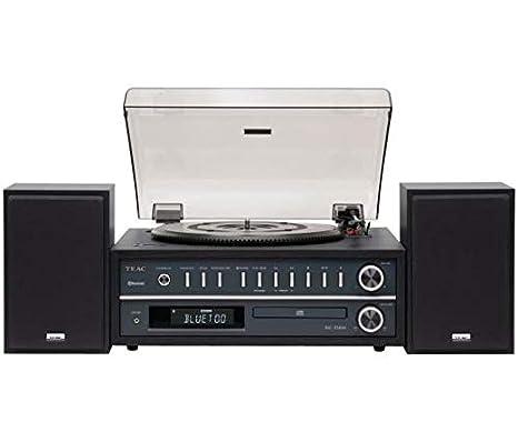 Teac MC-D800 - Sistema estéreo tocadiscos, color Negro: Amazon.es ...