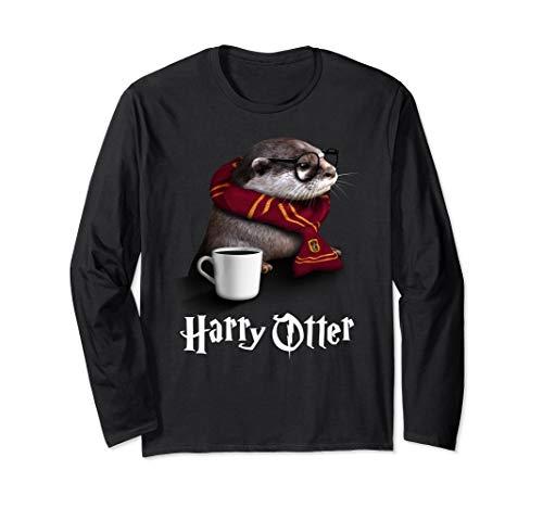 Funny Otter Longsleeve - Harry Otter Shirt for Otter lover