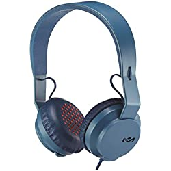 House of Marley EM-JH101-NV Rebel BT Bluetooth Headphones, Navy
