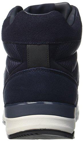 Blu Blu a Armani Dark Alto Collo 35435 Sneaker Uomo Blu Hiking FFqYzB