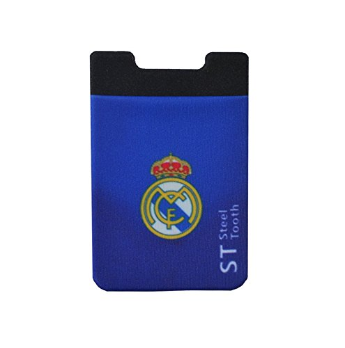 SteelTooth Real Madrid adhesive sticker Cell phone credit card holder for Smartphones including the iphones, and the Androids