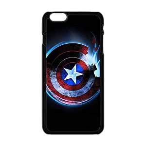 Custom Captain America Desgin High Quality Case Cover Fashion Style for iPhone 6/6s Plus