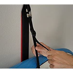 COR Board Racks Kayak or Paddleboard Heavy-Duty Padded Wall Storage Sling | Rack Mount by Cor Surf