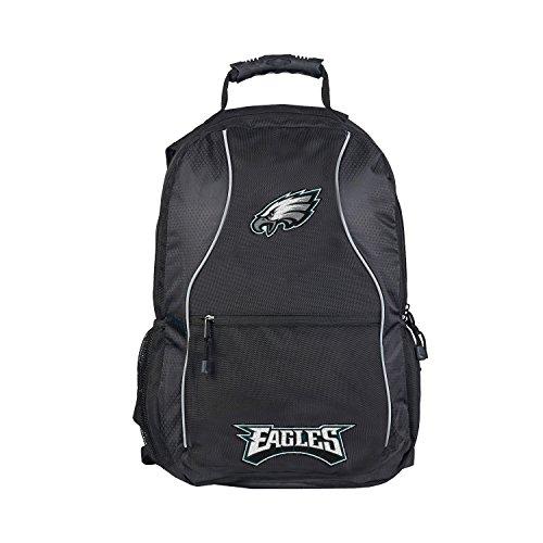 NFL Philadelphia Eagles NFL Phenom Backpack, Black, Measures 19