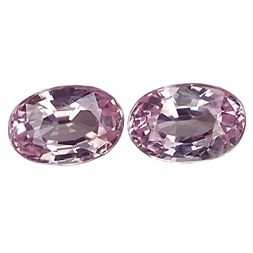 Ploythai 1.28CT STUNNING VVS PAIR UNHEATED OVAL PINK SAPPHIRE NATURAL by Ploythai