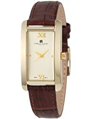 Charles-Hubert, Paris Womens 6670-G Classic Collection Gold-Plated Watch