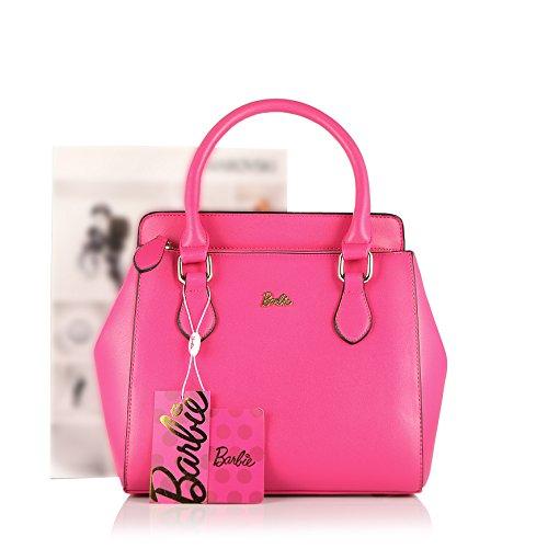 Barbie BBFB121 Bolso de Moda Bolso Chulo Elegante Bolso Bandolera y de Mano rosa intensa