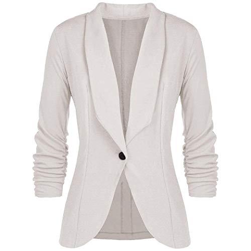 FIRERO Fashion Women OL Style Three Quarter Sleeve Blazer Elegant Slim Suit Coat -