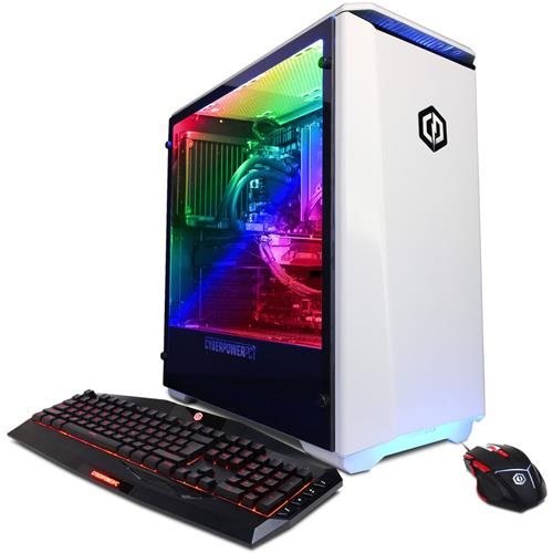 CyberPowerPC Gamer Supreme Desktop Intel Core i7 32GB Memory NVIDIA GeForce GTX 1080 Ti 3TB Hard Drive SLC8842OPT
