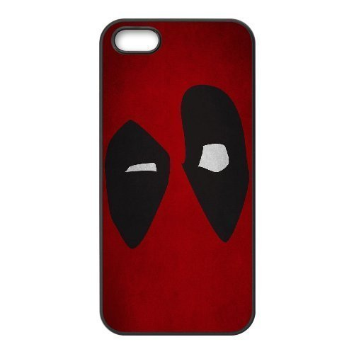 [[Deadpool Series] IPhone 4,4S Case Awesome Deadpool - Black] (Bike Lane Costume)