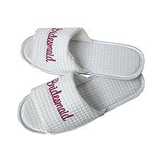 Lavenderi waffle slippers open toe