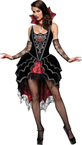 Webbed Mistress Sexy Costumes (Webbed Mistress Adult Costume - Small)