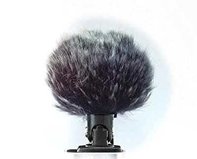 Furry Cover Windscreen Windshield Muff Compatible for SHURE MV88 Microphone
