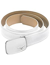 2016 Mizuno Digital Pattern Textured Mens Leather Golf Belt - One Size (Cut To Size)