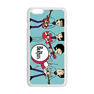 Cartoon The Beatles Fashion Comstom Plastic case cover For Iphone 6 Plus