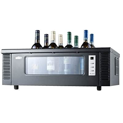 Summit STC1 8 Bottle Countertop Wine Chiller,