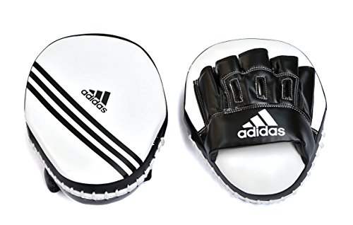 Adidas Focus Pad 25,4cm PU-Weiß/Schwarz
