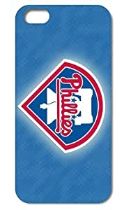 Forever Collectibles Official Licensed MLB Philadelphia Phillies Case Cover for Iphone 6 Case
