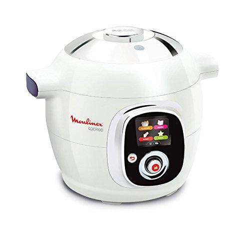 Moulinex CE704110 - Vaporera eléctrica de cocina, 6l, color blanco [Importado de Francia]
