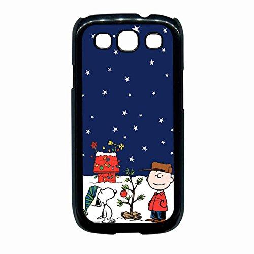 Charlie Brown Peanuts Comics Snoopy Christmas Case Samsung Galaxy S3 (Samsung Galaxy S3 Cases Snoopy)