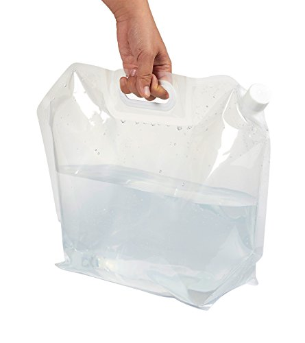 Review 4-Pack 1.3 Gallons Collapsible