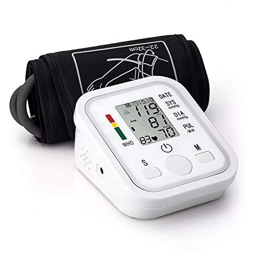 Carrie Tensiómetro de Brazo, con arrhythmie de Mostrar, con Escala de semáforo de Color, para una presión Arterial precisa medición: Amazon.es: Hogar
