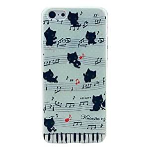 PG Music Cat Pattern Hard Case for iPhone 6