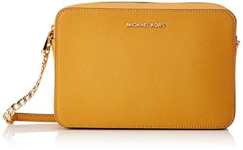 MICHAEL Michael Kors Women's Large East / West Cross Body Bag, Marigold, One Size