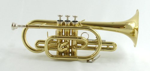 Schiller Shepards Crook Cornet by Schiller