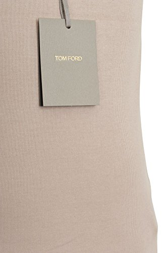 Tom Ford Tank Top Herren Beige Slim Fit Baumwolle Casual 48