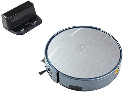 TeRIydF Aspirateur Robot avec contrôle WiFi APP, Navigation sur la Carte, Grande Poubelle et réservoir d\'eau, vadrouille sèche,