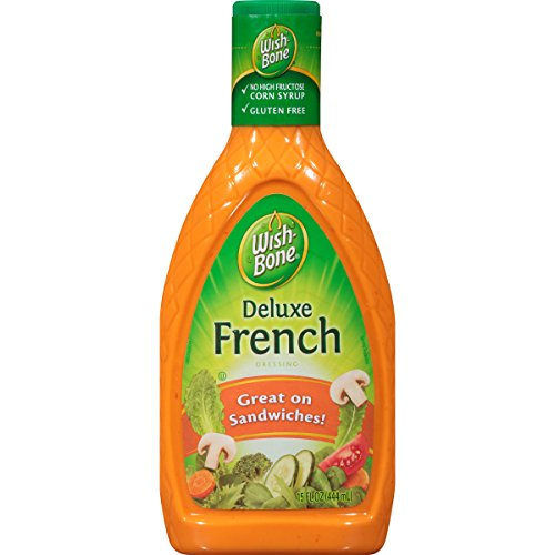 Wishbone Deluxe French Salad Dressing - Wish-Bone Salad Dressing, Deluxe French, 15 Ounce