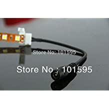 Altumcloud (TM) 2Pin 10mm Female Connector Cable For 5050 LED Strips Lights DC 10PCS/lot No Need Soldering