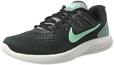 Nike Men's Lunarglide 8 Running Shoe Cannon/Green Glow/Black/Hasta Size 11.5 M US