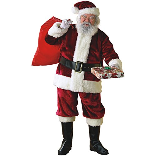 Regency Crimson Santa Suit Adult Costume - Large (Regency Suit Santa)