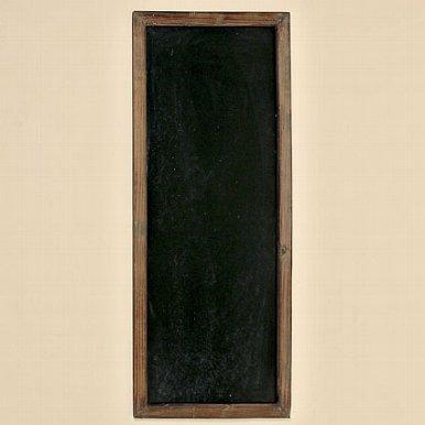 Große Wandtafel, Kreidetafel, Schreibtafel, Werbetafel, Holzrahmen 115