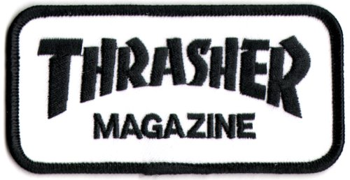Thrasher Skateboard Magazine Punk Rock Music Skateboard Patch - Iron/Sew On New