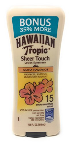 (Hawaiian Tropic Sheer Touch Broad Spectrum SPF15)