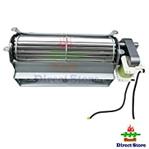 Direct store Parts Kit DN102 Replacement Fireplace Fan Blower with Twin Star electric fireplace ,Wood / Gas Burning Stove