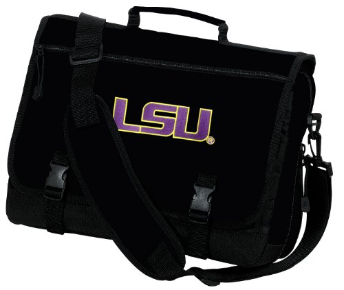 LSU Laptop Bag LSU Tigers Computer Bag or Messenger Bag - Inexpensive Computer