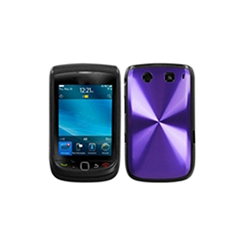 MyBat Cosmo Protector Cover for Blackberry Torch 4G 9810 - Retail Packaging - Purple