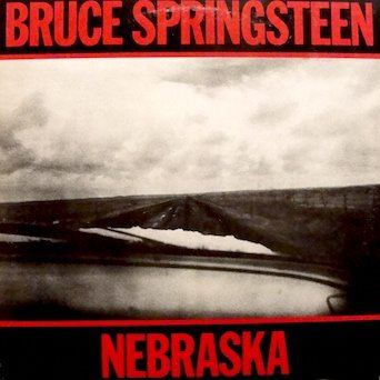 Bruce Springsteen : Nebraska (original inner sleeve w/ lyrics) Tracklist: Nebraska. Atlantic City.Mansion On The Hill. Johnny 99. Highway Patrolman. State Trooper. Used Cars. Open All Night. My Father's House. Reason To Believe